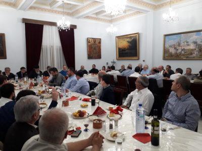 Δείπνο ευχαριστίας απο τον Αρχιεπίσκοπο Κύπρου