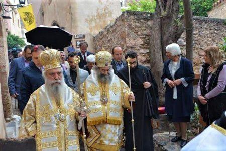 Μονεμβασιά: Πάνδημη συμμετοχή στον λαμπρό εορτασμό της Παναγίας Χρυσαφίτισσας