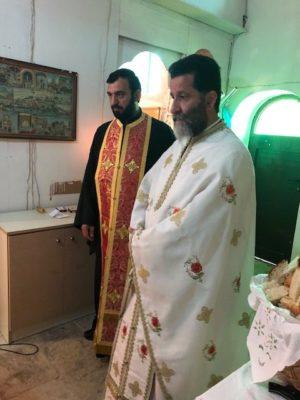 Η Πανηγυρική Θεία Λειτουργία στον Ναό Αγίου Γεωργίου Επισκοπής Καλάμου