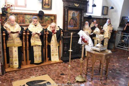 Ιεροσόλυμα: Το Μυστήριο του Ιερού Ευχελαίου στην Μονή Κωνσταντίνου και Ελένης