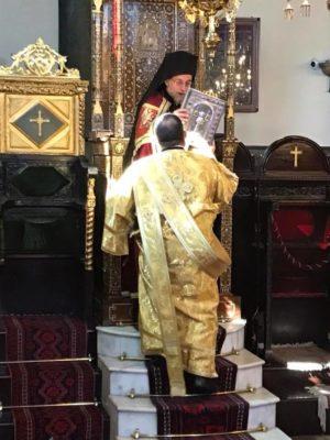 Φανάρι: Χοροστασία Ρόδου Κυρίλλου στον Πατριαρχικό Ναό