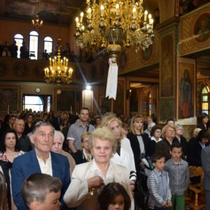 Άγιος Γεώργιος: Θεία Λειτουργία στον Μητροπολιτικό Ναό Ελευσίνος