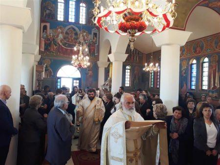 Εορτή των αγίων και ενδόξων νεοφανών μαρτύρων Ραφαήλ, Νικολάου και Ειρήνης στη Μητρόπολη Θεσσαλιώτιδος