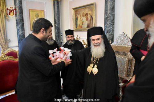 Πασχάλιες επισκέψεις των ξένων δογμάτων στο Πατριαρχείο Ιεροσολύμων