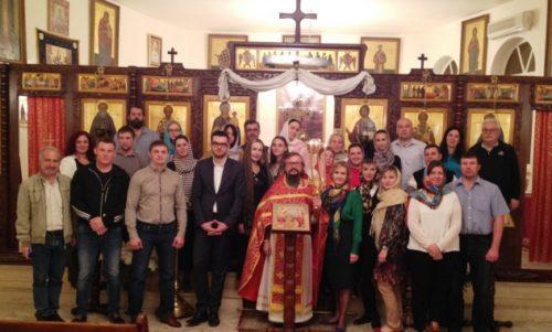 Δαμασκός: Ακολουθία της Αναστάσεως στον Ι. Ναό της Αντιπροσωπείας της Ορθοδόξου Εκκλησίας της Ρωσίας
