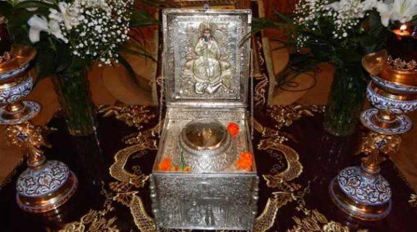 Η Καρδίτσα υποδέχεται την τιμία κάρα Του πολιούχου και προστάτου της Αγίου Σεραφεὶμ
