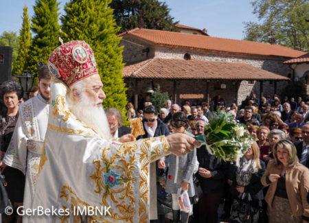 Ζωοδόχου Πηγής: Πανηγύρισε στη Βέροια η Ιερά Μονή Παναγίας Δοβρά