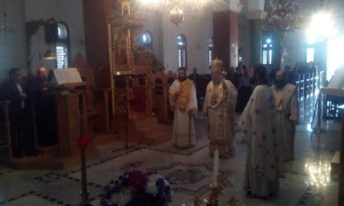 Κυριακή του Αντίπασχα στη γενέτειρα του Αρχιεπισκόπου Κύπρου