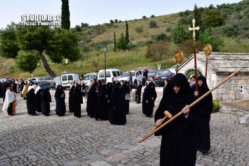 Ναύπλιο: Η Εορτή της Ζωοδόχου Πηγής στο Βυζαντινό Μοναστήρι της Αγίας Μονής