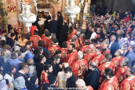 Η Εορτή του Πάσχα στο Πατριαρχείο Ιεροσολύμων