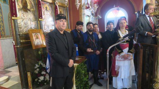 Με μεγαλοπρέπεια τίμησε η Σύρος τον Άγιο Γεώργιο