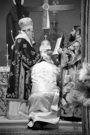 Χειροτονία Διακόνου Γερασίμου Αθανασίου στη Μητρόπολη Πατρών