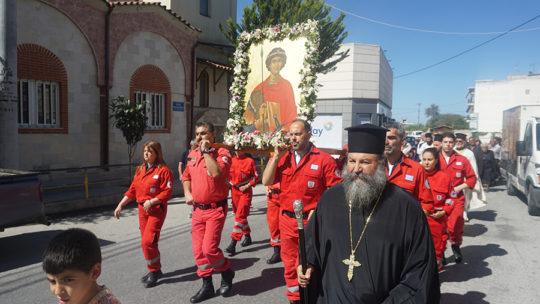 Εορτή Αγ. Γεωργίου στον Μητροπολιτικό Ναό Αγίου Γεωργίου Μοίρων