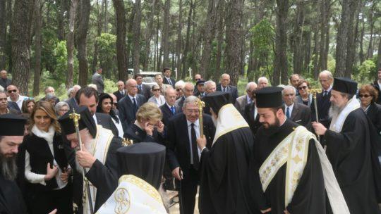 Στο Τατόϊ σήμερα Αρχιεπίσκοπος, τ. Βασιλιάς Κωνσταντίνος και μέλη της Ιεράς Συνόδου