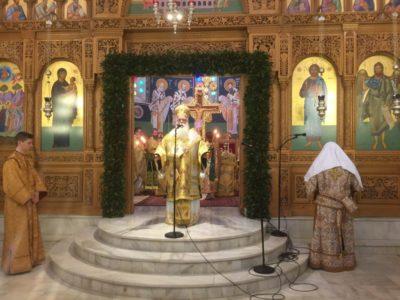 Κυριακή των Βαΐων-Νέος Διάκονος στην Μητρόπολη Δημητριάδος