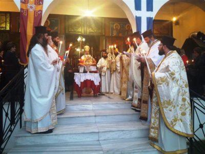 Καρδίτσα: Η εορτή των αγίων και ενδόξων μαρτύρων Ραφαήλ, Νικολάου και Ειρήνης