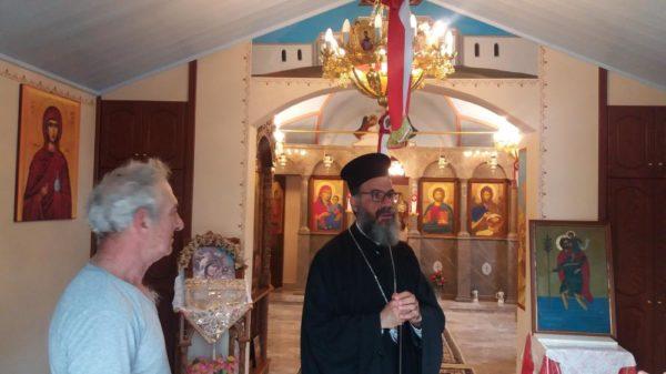 Προσκυνηματική περιήγηση του Σύμης Χρυσοστόμου σε Ιερούς Ναούς