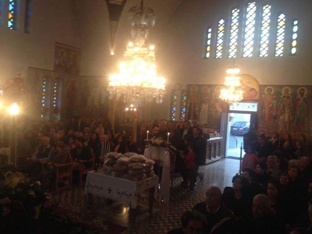 Λαμπρός ο εορτασμός του Αγίου Γεωργίου στην Μητρόπολη Αρκαλοχωρίου
