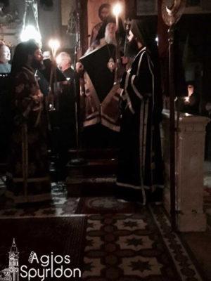 Κερκύρας Νεκτάριος: Με την Σταυρική Του θυσία ο Κύριός μας συνήψε νέα διαθήκη με τους ανθρώπους