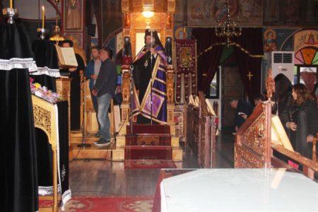 Η ακολουθία του Νυμφίου (Όρθρος Μ. Τετάρτης) στον Ναό Αγίου Δημητρίου Καρδίτσης