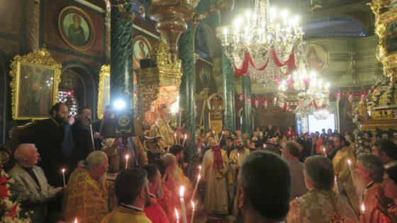 Ερμούπολη: Ο Εσπερινός της Αγάπης στον Ναό Κοιμήσεως της Θεοτόκου Ψαριανών
