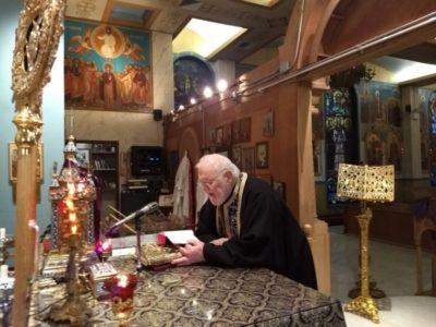 Η Ακολουθία του Νυμφίου στον Ιερό Ναό Αγ. Ελευθερίου Μανχάταν