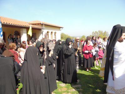 Σουφλί: Τιμήθηκε στο Μετόχι της Αγιορείτικης Μονής Ιβήρων η θαυματουργική εμφάνιση από τη θάλασσα της ιεράς εικόνος της Πορταϊτίσσης