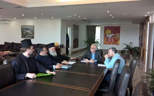 Θρησκευτικά: Τι συζητήθηκε στη σημερινή συνάντηση Γαβρόγλου με εκπροσώπους της Ιεράς Συνόδου
