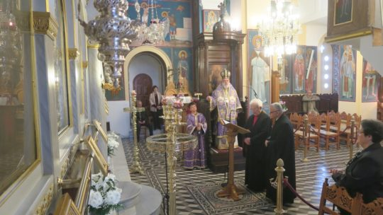 Άνδρος: Προηγιασμένη Θεία Λειτουργία στον Ναό Αγίου Νικολάου Γαυρίου