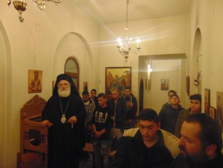 Συνάντηση ιεροσπουδαστών Ιεράς Μητρόπολης Αρκαλοχωρίου