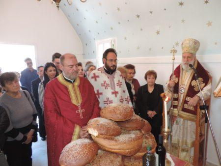 Προεόρτιος Εσπερινός στο Παρεκκλήσι του Αγίου Θωμά στη Μύκονο