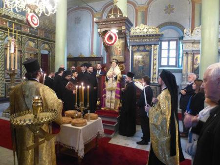 Ο Οικουμενικός Πατριάρχης στον Άγιο Γεώργιο Εδιρνέκαπου