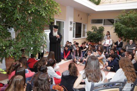Επίσκεψη μαθητών στις Φιλανθρωπικές Δομές της Ιεράς Μητροπόλεως Θηβών