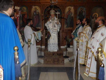 Κόρινθος: Πανηγυρικά εορτάστηκε η μνήμη των Αγίων Λεωνίδη και των επτά Αγίων Μαρτύρων Γυναικών