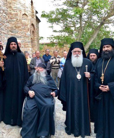 Κουρά Μοναχού στην Ιερά Μονή Αγίου Παντελεήμονος Αγιάς