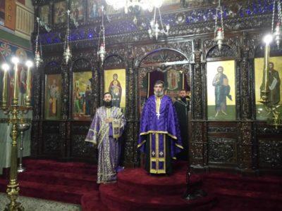 Μεγάλη Τρίτη στον Ναό του Ευαγγελισμού της Θεοτόκου Ηγουμενίτσας