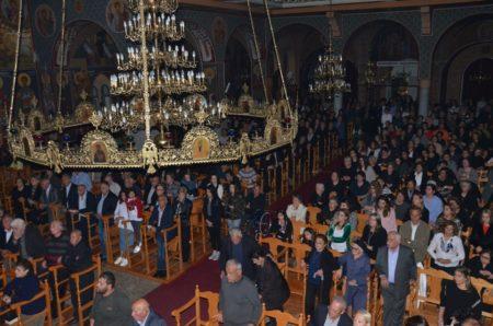 Παραλίμνι: Η Ακολουθία του Νυμφίου στον Ιερό ναό Αγίου Γεωργίου