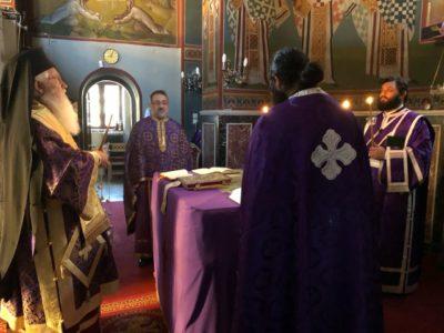 Μαθητική Θεία Λειτουργία στο Κυριάκι