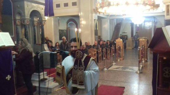 Μεγάλη Παρασκευή και Θ. Λειτουργία του Μεγάλου Βασιλείου στον Ναό Αρχαγγέλου Μιχαήλ Άνω Βιάννου