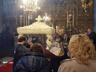 Φανάρι: Η Αποκαθήλωση στον Πατριαρχικό Ναό του Αγίου Γεωργίου