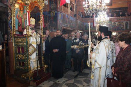 Καρδίτσα: Η ακολουθία του Εσπερινού επί τη μνεία των εγκαινίων του ναού της Υπεραγίας Θεοτόκου, της Ζωοδόχου Πηγής