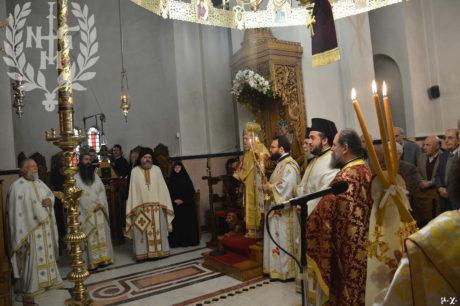 Εορτή της Παναγίας Χορταϊτίσσης στην Ι. Μονή Μεταμορφώσεως του Σωτήρος του Χορτιάτη