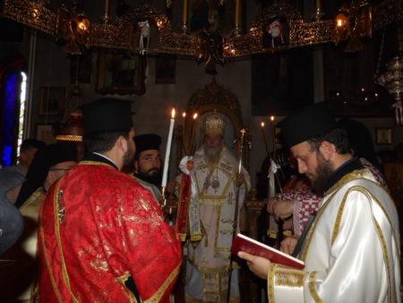 Πλήθος πιστών στην πανήγυρη της Μονής Αναστάσεως Χριστού Λουτρακίου