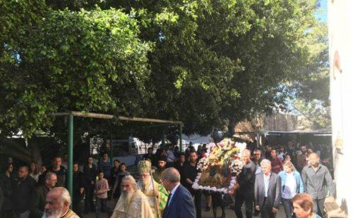 Συγκίνηση και μεγάλη προσέλευση στην Εορτή των Βαΐων στη Σωτήρα Αμμοχώστου