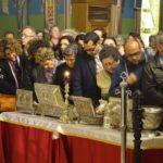 Ν. Ιωνία: Πλήθος κόσμου στην υποδοχή Ιερών Λειψάνων για τη Σύναξη της Παναγίας Διασωζούσης