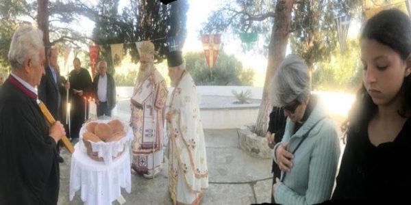 Κρήτη: Αρχιερατική Θεία Λειτουργία στον Ναό Αγίων Ραφαήλ, Νικολάου και Ειρήνης Μυρσίνης Σητείας