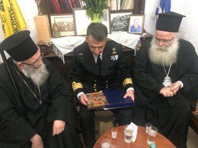 Στην Ιερά Μονή Τοπλού ο Διοικητής και σπουδαστές της Σχολής Ναυτικών Δοκίμων