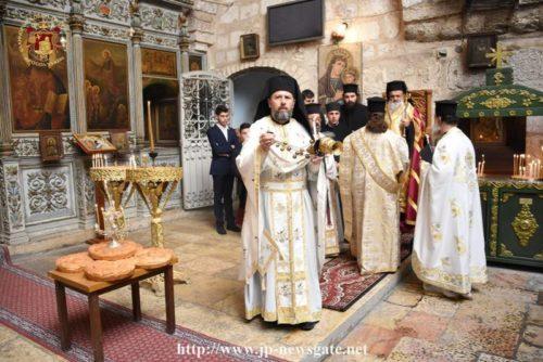 Κυριακή των Μυροφόρων στο Πατριαρχείο Ιεροσολύμων