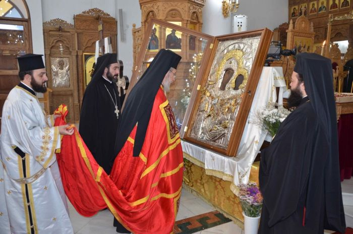 Η Κύπρος αποχαιρέτισε την Ιερά Εικόνα της Παναγίας Βουρλιωτίσσης
