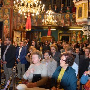 Μέγας Πανηγυρικός Εσπερινός στον Ιερό Ναό Αγίου Γεωργίου – Νέας Περάμου